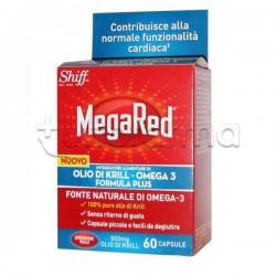 MegaRed Integratore con Olio di Krill per Benessere Cuore 60 capsule