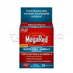 MegaRed Integratore con Olio di Krill per Benessere Cuore 20 capsule