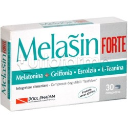 Melasin-Forte Integratore per Sonno 1mg Melatonina 30 Compresse