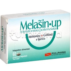 Melasin-Up Integratore per Problemi a Dormire 1mg Melatonina 60 Compresse