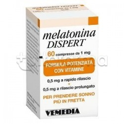 Melatonina Dispert per Insonnia e Jet Lag 60 compresse da 1 mg