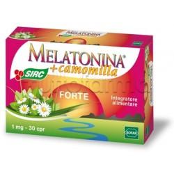 Melatonina Forte Integratore per Dormire 30 Compresse da 1mg
