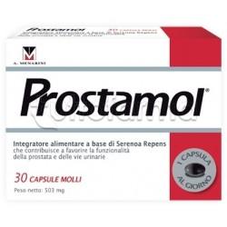 Menarini Prostamol Integratore per benessere Prostata 30 Capsule