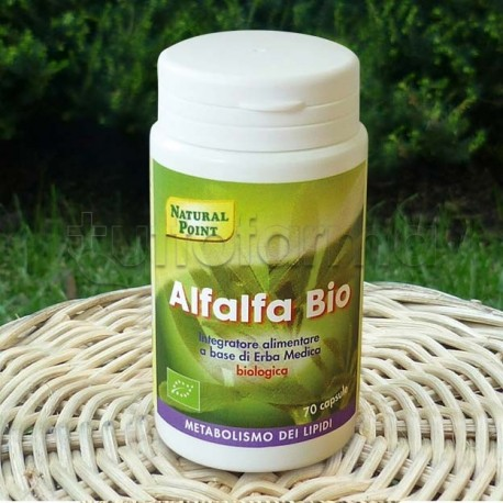 Natural Point Alfalfa Bio Integratore Dimagrante 70 Capsule