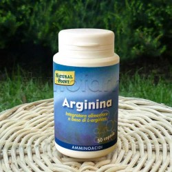 Natural Point L-Arginina 500 mg Integratore 50 Capsule