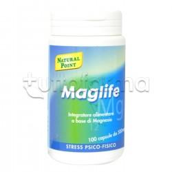 Natural Point Maglife Integratore di Magnesio per Stanchezza 100 Capsule