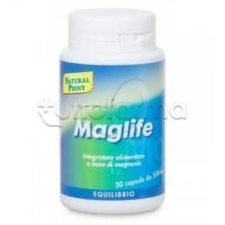 Natural Point Maglife Integratore di Magnesio per Stanchezza 50 Capsule