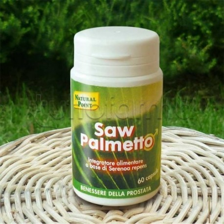 naturalpoint integratori  Natural Point Saw Palmetto Integratore per Prostata 60 Capsule