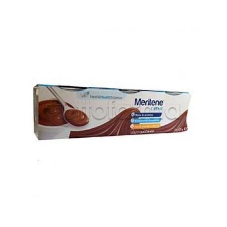 Nestlè Meritene Crema Cioccolato Dessert Per Nutrizione ed Energia 3x125g