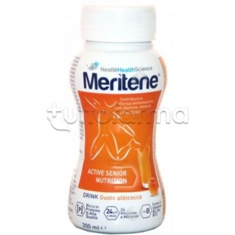 Nestlè Meritene Protein Drink Per Nutrizione ed Energia 200 ml Gusto Albicocca