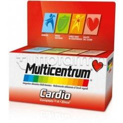 Multicentrum Cardio per Benessere Cuore e Ridurre Colesterolo 60 Compresse