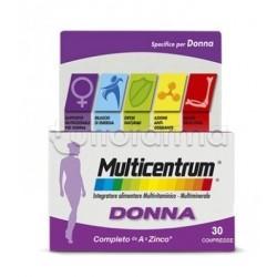 Multicentrum Donna Multivitaminico per Donne 30 Compresse