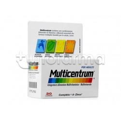 Multicentrum Integratore Multivitaminico Multiminerale per Adulti 30 Compresse