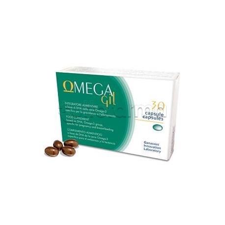 Omegagil Integratore per Gravidanza e Allattamento 30 Capsule