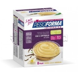 Pesoforma Crema Vaniglia Sostituto del Pasto 8 Buste