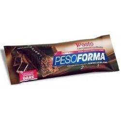 Pesoforma Monopasto Gusto Cioccolato Dark Fondente 2 Pezzi