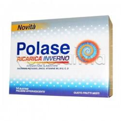 Polase Ricarica Inverno Integratore per Difese Immunitarie 14 Bustine