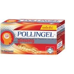 Pollingel Ginseng Integratore Energetico con Pappa Reale 10 Flaconcini da 10ml