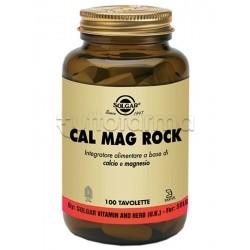 Solgar Cal Mag Rock Integratore per Articolazioni 100 Tavolette