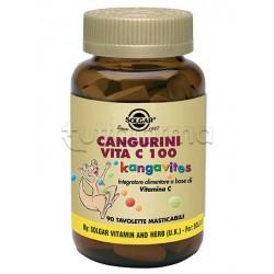 Solgar Cangurini Vita C Integratore di Vitamina C 100 Compresse Masticabili