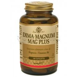 Solgar Dima Magnum Mag Plus Integratore per Disturbi Mestruali 100 Tavolette