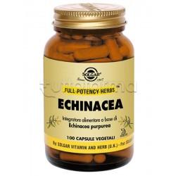 Solgar Echinacea Integratore per Difese Immunitarie 100 Capsule