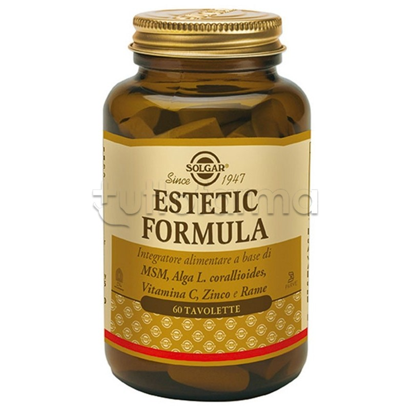 Solgar Estetic Formula Integratore per Pelle Unghie e ... Ditali