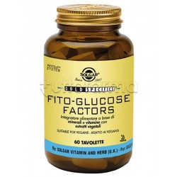 Solgar Fito Glucose Factors Integratore per Glicemia 60 Tavolette