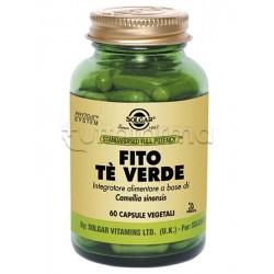 Solgar Fito Te Verde Integratore Antiossidante e Dimagrante 60 Capsule Vegetali