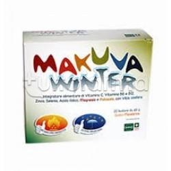 Makuva Winter Integratore per Difese Immunitarie ed Energia 20 Bustine