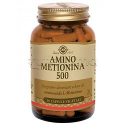Solgar Amino Metionina 500 Integratore Energetico 30 Capsule