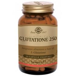 Solgar Glutatione 250 Integratore Antiossidante 30 Capsule