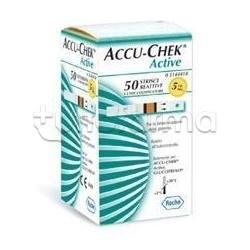 Strisce Misurazione Glicemia Accu-Chek Active Mic Retail 50 Pezzi