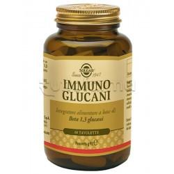 Solgar Immuno Glucani Integratore per Difese Immunitarie 60 Tavolette