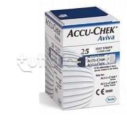 Accu-Chek Aviva Strisce Reattive Glicemia 25 Pezzi