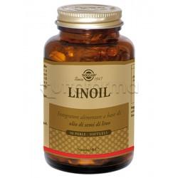Solgar Linoil 1250 Integratore per Colesterolo 90 perle
