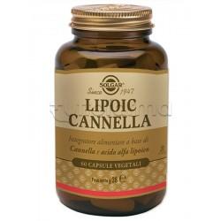 Solgar Lipoic Cannella Integratore Antiossidante 60 Tavolette