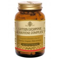 Solgar Lutein Lycopene Carotene Complex Integratore per la Vista 30 Capsule