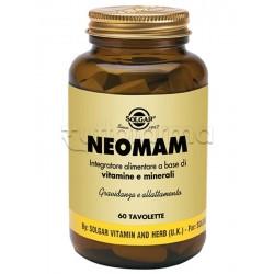 Solgar Neomam Integratore per Gravidanza e Allattamento 60 Tavolette