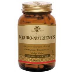Solgar Neuro Nutrients Integratore per Memoria e Umore 30 Capsule