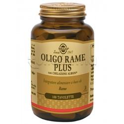 Solgar Oligo Rame Plus 100 Tavolette