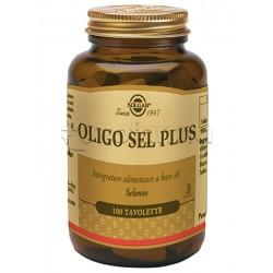 Solgar Oligo Sel Plus Integratore Selenio per Difese Immunitarie e Tiroide 100 Tavolette