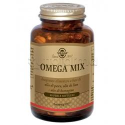 Solgar Omega Mix Integratore Omega 3 per Cuore e Colesterolo 60 Perle