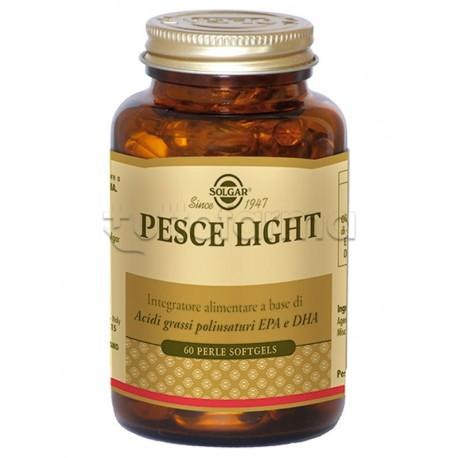 Solgar Pesce Light Integratore per Salute del Cuore 60 Perle