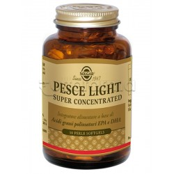 Solgar Pesce Light Super Concetrated Integratore per Colesterolo 30 Perle