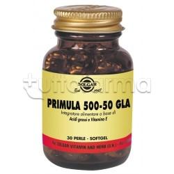 Solgar Primula 500-50 Gla Integratore per Disturbi del Ciclo 30 Perle
