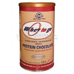 Solgar Protein Chocolate Integratore di Proteine 454gr Gusto Cioccolato