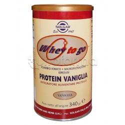 Solgar Protein Chocolate Integratore di Proteine 340gr Gusto Vaniglia