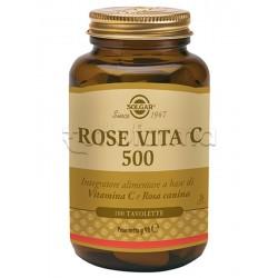 Solgar Rose Vita C Integratore di Vitamina C Naturale 100 Tavolette