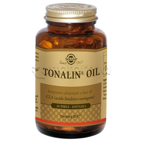 Solgar Tonalin Oil Integratore per Bruciare Grassi 60 Perle